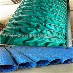耐磨防尘输送帆布通风管到底是什么?