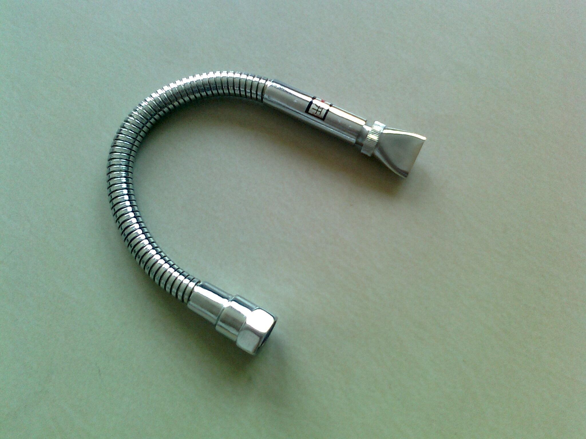镀铬万向型 随意调节金属冷却管
