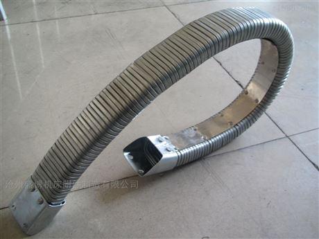 防腐蚀耐弯曲矩形金属软管