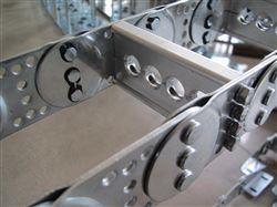专业厂家不锈钢制电缆拖链