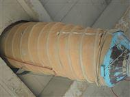 耐高温伸缩管风机水泥伸缩帆布软连接