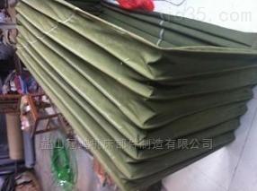 南京定制方形帆布卸料伸缩布袋