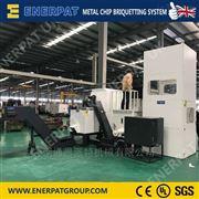 BM160链轮加工厂产生的钢屑用钢屑压块机