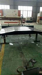西安铣镗床不锈钢板防护罩