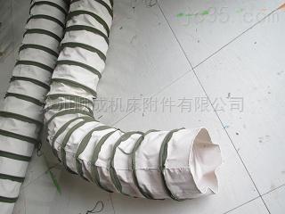 密封耐磨水泥帆布伸缩布袋厂家定制