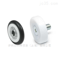 圆形带螺杆传送导向滚轮