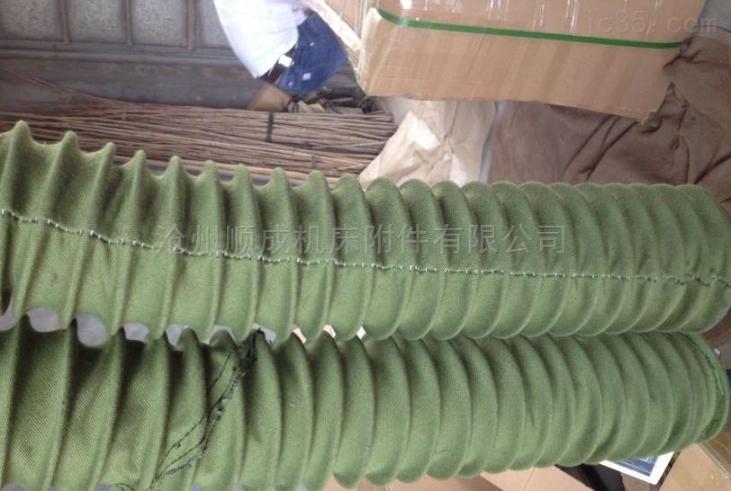 设备用耐磨伸缩钢丝加固除尘通风管软连接