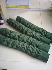 自定常规吊环式耐磨纯棉帆布水泥伸缩布袋