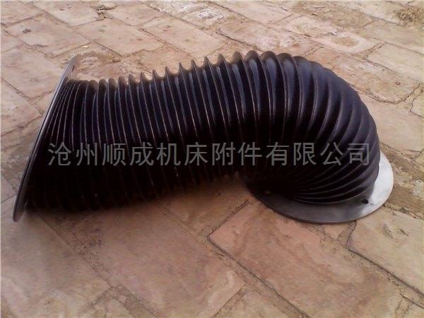 定做防尘密封加厚橡胶圆形丝杠防护罩