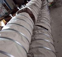 自定钢带式水泥散装罐车伸缩软连接