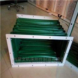 帆布包装机械设备通风口伸缩软连接厂家价格
