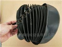 耐高温阻燃伸缩防尘罩生产