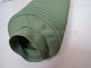 质钢丝骨架支撑耐磨帆布输送软连接