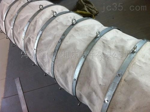 散装水泥伸缩布袋用途