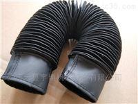钢丝圈支撑圆筒式丝杠护套 拉链式防护罩