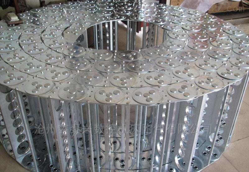 供应加强型大工字铝钢制拖链
