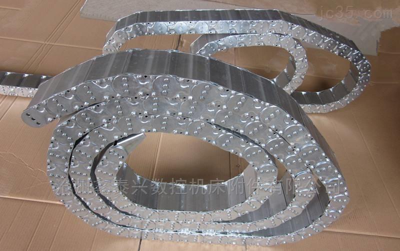 钢厂流水线专用钢制拖链