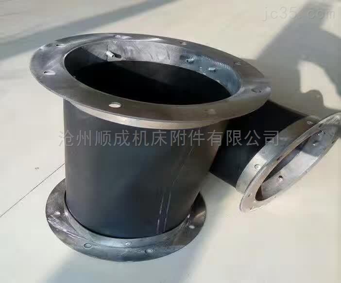 加工粉末输送耐磨加厚伸缩软连接
