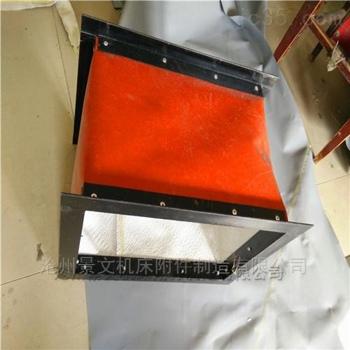 北京方形高温风道口软连接生产商