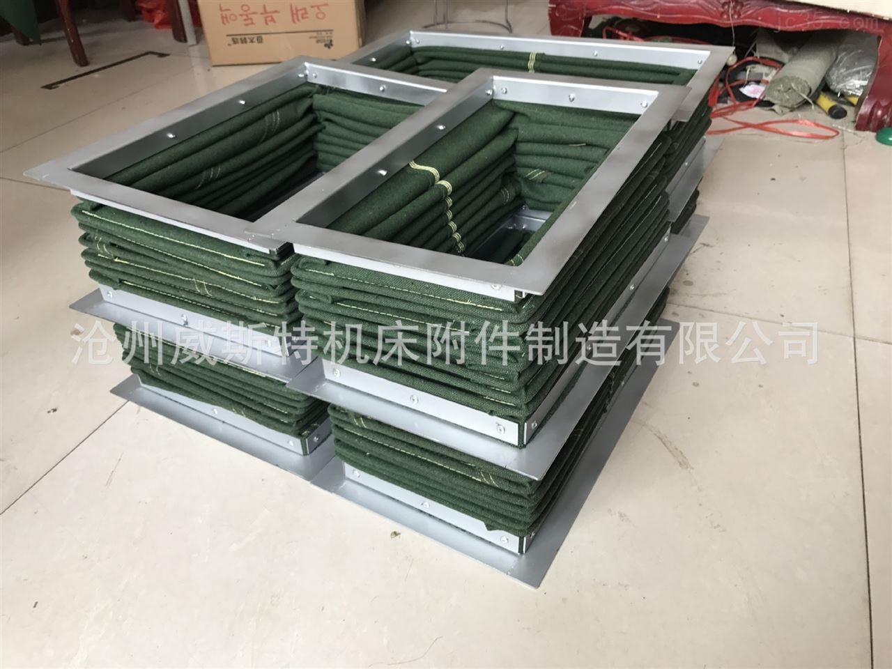 沧州威斯特厂家供应 印刷机帆布软连接