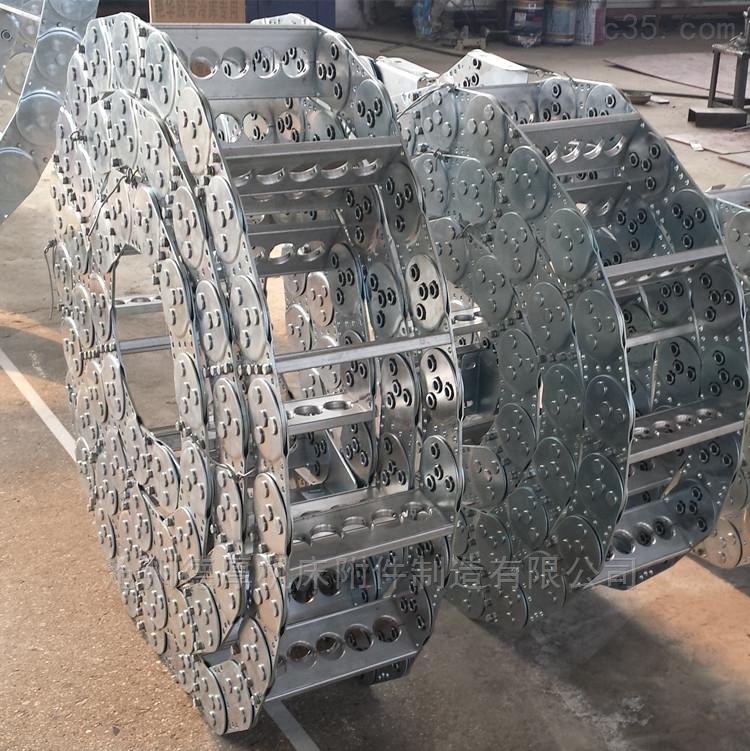 全自动数控码垛机组用全封闭钢制拖链