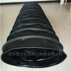 耐酸碱橡胶布下料口伸缩软连接价格
