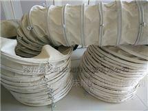 帆布水泥耐磨输送伸缩布袋厂家按规格定做
