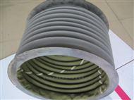 定制耐高温风管帆布通风软连接