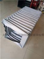 自定方形硅胶布耐高温风道软连接批发价