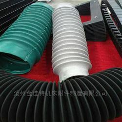 綠色三防布油缸防塵套