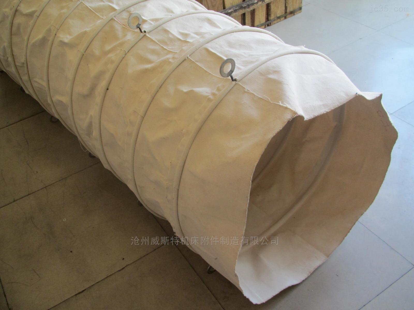 水泥罐车耐磨加厚帆布输送布袋
