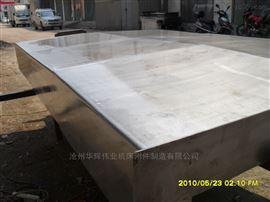 龍門磨床鋼板防護罩
