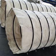 下料口干灰除尘伸缩帆布袋 风管水泥厂套筒