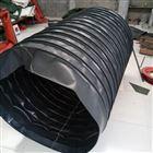 黑色橡胶布通风伸缩软连接报价