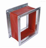重型机缝制防火硅胶布软连接 风机接口