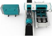 平模圆模一体式竞技宝激光切割机