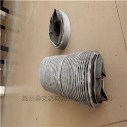 耐腐蚀硅胶布丝杠防护罩---内有钢圈支撑