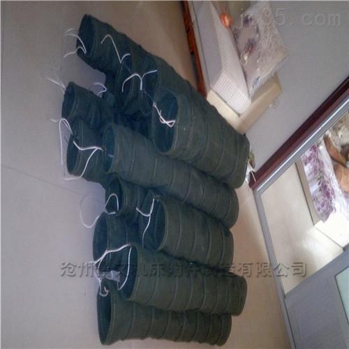常州耐磨粉尘帆布输送伸缩软管厂家供应价