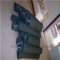 自定常州耐磨粉尘帆布输送伸缩软管厂家供应价