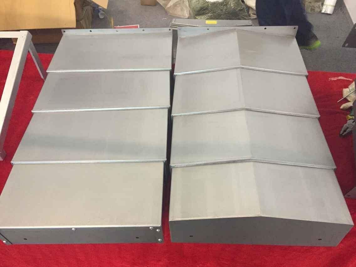机床钢板防护罩厂家产品图片