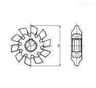 盘形齿轮铣刀