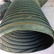 抗风压钢丝骨架帆布伸缩风管厂家定做