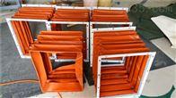 自定烘箱設備高溫風道口軟連接廠家
