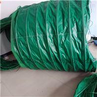 60码头水泥下料口耐磨输送伸缩布袋供应价