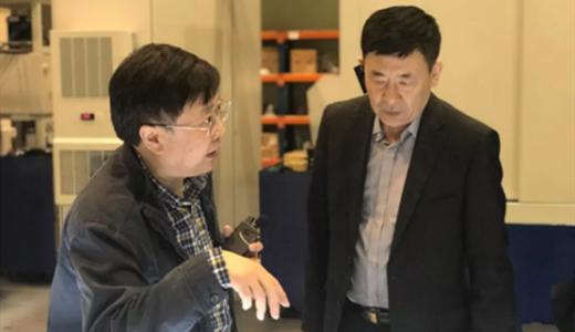 中国机床总公司梁枫总经理访问秦川机床工具集团股份公司
