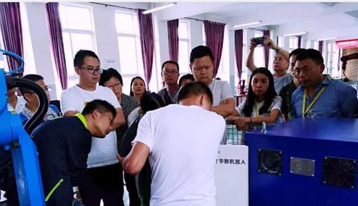 2018年骨干教师工业机器人基础研修班、高级研修班顺利开班