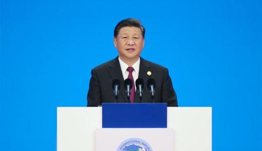 習近平:中國將堅定不移奉行互利共贏的開放戰略